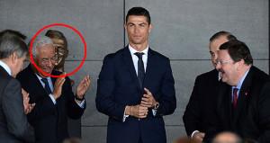 Ronaldonun büstünü gören kahkahayı bastı