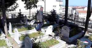 Samsun'da şehitliğe çirkin saldırı
