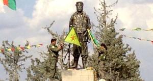 Şımarıklıkta sınır tanımayan PYD, Kobani'de kendini ele verdi