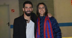 Türk yıldız Barcelonaya gidiyor