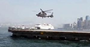 Pervanesi dönmeden uçan helikopter kafaları karıştırdı