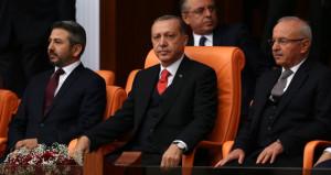 Erdoğan, TBMMdeki gerginliğe tepki gösterdi: Tartışmaları bırakın
