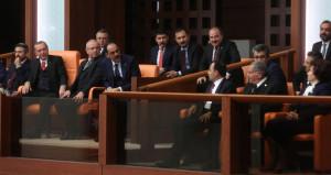 Mecliste Erdoğanı güldüren diyalog!