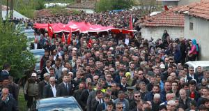 Tekirdağlı şehidi, 500 nüfuslu köyde 5 bin kişi uğurladı