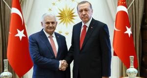 Erdoğan ile Yıldırım arasında sürpriz görüşme
