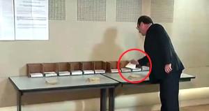 Hollande fena yakalandı: Kendi partisinin adayına oy vermemiş!