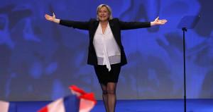 İlk turda ipi göğüsleyen Le Pen'den istifa haberi geldi!