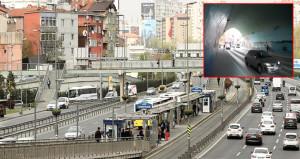 İstanbulun göbeğinde metrobüsten inen kıza tecavüz etmeye kalktılar