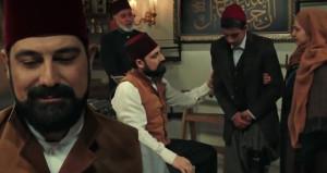 İzleyicileri Abdülhamid'e hayran bırakan sahne
