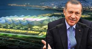 Erdoğan'ın açtığı statta ne elektrik ne doğalgaz kaldı