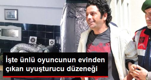 Oyuncu Selim Erdoğanın Evindeki Uyuşturucu Düzeneği Görenleri Hayrete Düşürdü