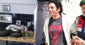 İşte ünlü oyuncunun evinden çıkan uyuşturucu düzeneği