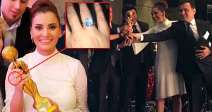 Hande Fırat'ın yüzüğündeki pırlanta aldığı ödülü gölgede bıraktı