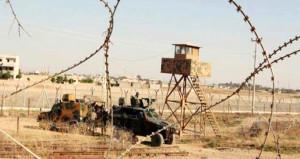 Suriye tarafından atılan tanksavar mermisi zırhlı araca isabet etti!