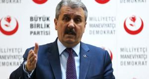 AK Parti'den sonra BBP de kurultay kararı aldı
