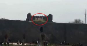 Diyarbakır surlarına inen meleklerin sırrı çözüldü!