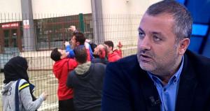 Tellere çıkan Emre, Mehmet Demirkol'a meydan okudu