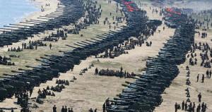 Yüzlerce Kuzey Kore topçusu sınırda! Artık savaşa ramak kaldı
