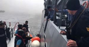 Karadeniz'de batan Rus gemisinin askerleri böyle kurtarıldı