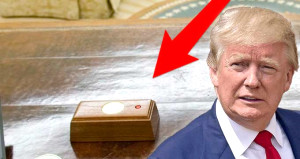 Masasındaki kırmızı butonun sırrı çözüldü