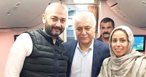Nihat Hatipoğlu, 12 bin fitte Niran Ünsal'ın nikahını kıydı