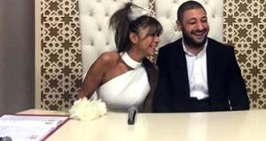 Sosyetenin göz bebeği, 25 yaş küçük sevgilisine nikahı bastı