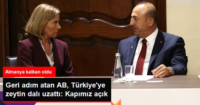 Geri adım atan AB, Türkiye'ye zeytin dalı uzattı: Kapımız açık