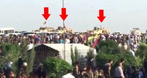 ABD askerleri Türkiye'nin vurduğu YPG'li teröristlerin cenazesinde!