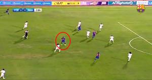 Ronaldinho futbolu bıraktı ama şov yapmaya devam ediyor