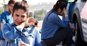 Sınava giderken kapkaça uğrayan genç kızın imdadına polis yetişti