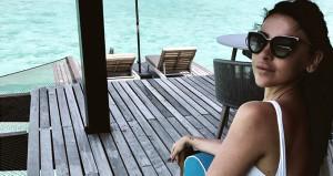 1 haftalığına gittiği Maldivler ve Dubai'de servet bırakıp geldi