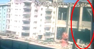 3 kişinin ölümüne neden göçük, güvenlik kameralarına yansıdı