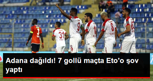 Antalyaspor, Adanaspor'u 5-2 Yendi