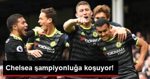 Chelsea, Everton'u 3-0 Yendi, Şampiyonluğa Koşuyor
