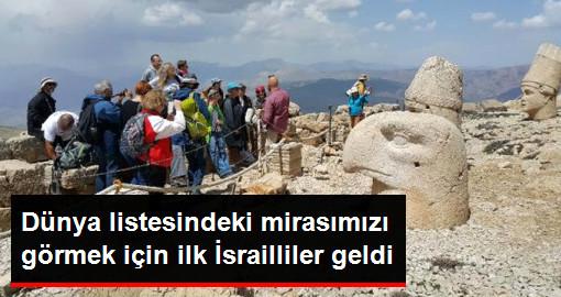 Nemrut Dağı'nda Sezon Açıldı, İlk Yabancı Kafile Israilliler Oldu