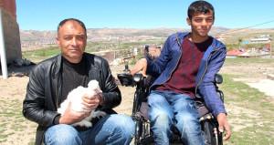 Engelli oğlunun isteği gelir kaynağı oldu