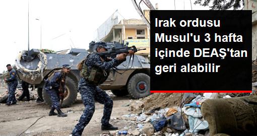 Irak Genelkurmay Başkanı: Musul'u 3 Hafta İçinde Kurtaracağız