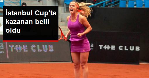 TEB BNP Paribas İstanbul Cup'ı Elina Svitolina Kazandı