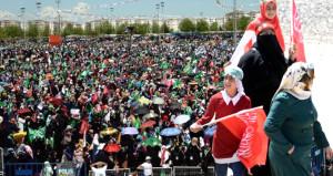 Peygamber sevdalıları binler oldu, Diyarbakır'da toplandı