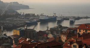 Zonguldak Limanı'ndaki operasyonda antitank füzesi parçaları bulundu