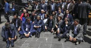 Soylu'dan, eylemdeki CHP'lilere sert eleştiri: HDP'nin yolundasınız!