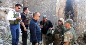 12 PKK'lının öldürüldüğü yeri gören Vali şaştı kaldı: Karargah gibi