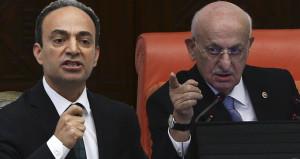 Meclis'te gerginlik! Başkan, HDP'li Baydemir'i azarladı