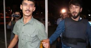 Atatürk büstüne motolof atan PKK yandaşı saldırgan, tutuklandı