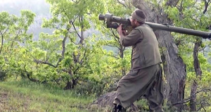 Teröristler Irak'tan güdümlü füzeyle saldırdı! 1 Asker yaralı