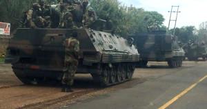 Ordu darbe için harekete geçti! Tanklar başkente doğru ilerliyor
