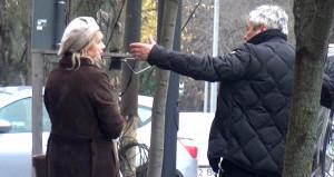 Lucescu eşini sokak ortasında azarladı