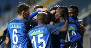 Süper Ligin ikinci yarısında açılışı Kasımpaşa yaptı