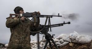 Afrin sınırında elleri tetikte emir bekliyorlar!