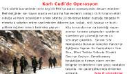 Karlı Cudi'de Operasyon